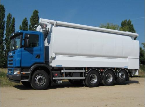 Citerne aliment / porteur 8x4x4 Scania