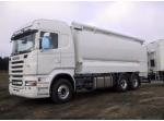 Citerne aliment / porteur 6x4 Scania